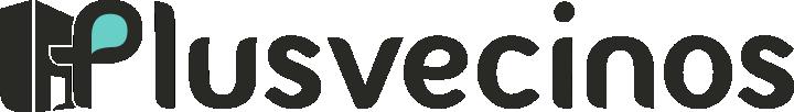 Plusvecinos Logomarca original hor. RGB