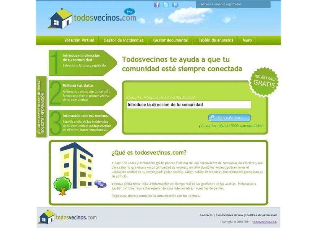 Nace Todosvecinos.com